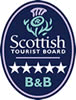 Aikenshill House Scottish Tourist Board B&B 5 Star Award